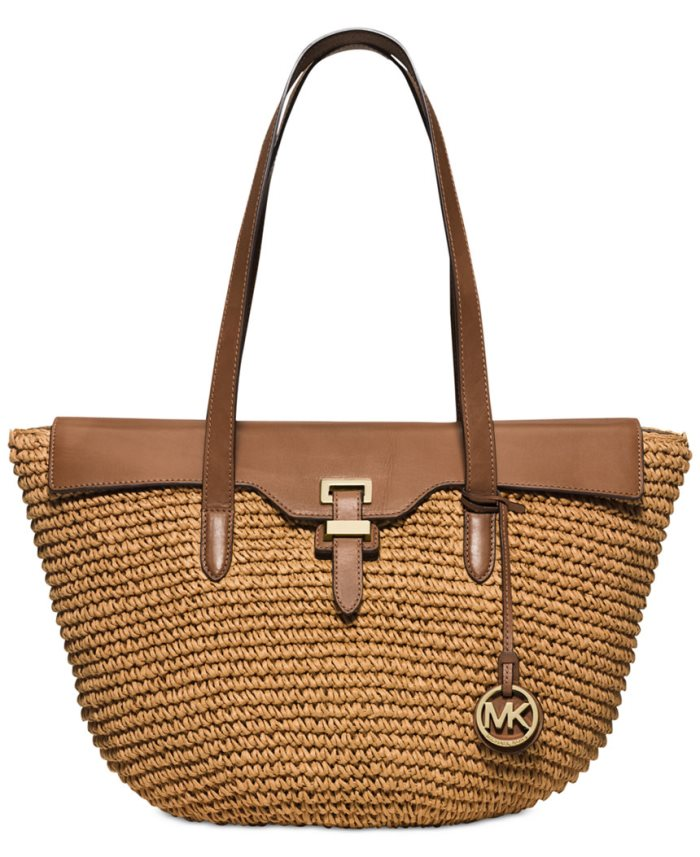Michael Kors Straw Bag for Spring and Summer