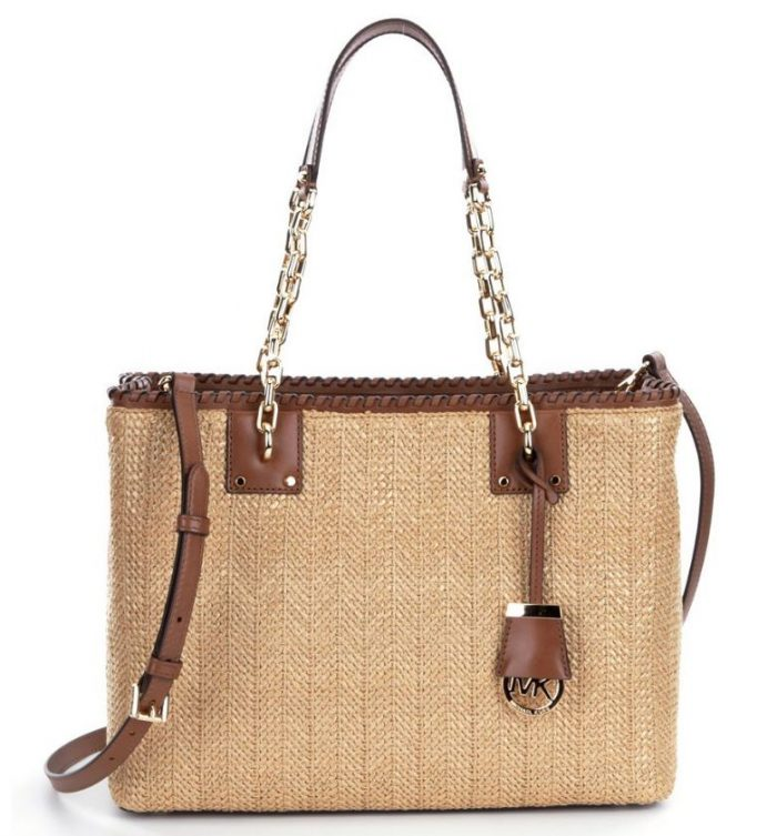 Michael Kors Straw Tote for Summer