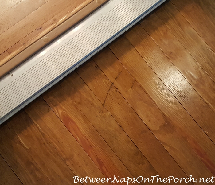 Scratch on Hardwood Flooring