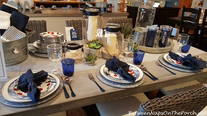 Summer Beach Themed Dinnerware, Pottery Barn 01