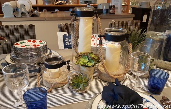 Summer Beach Themed Dinnerware, Pottery Barn 03