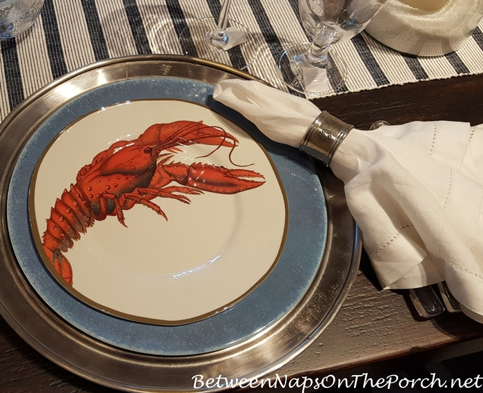Summer Beach Themed Dinnerware, Pottery Barn 09