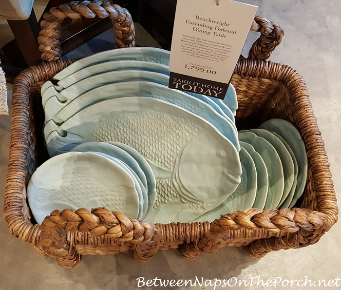 Summer Beach Themed Dinnerware, Pottery Barn 16