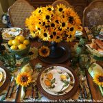 The Happiest Tablescape Ever: A Sunny Limoncello Celebration
