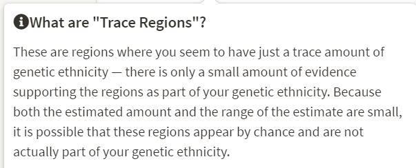 Trace Regions