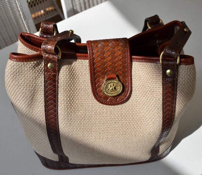 Vintage Brahmin Bag, Harbor Collection