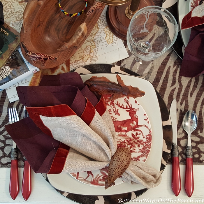Whimsical Safari Tablescape
