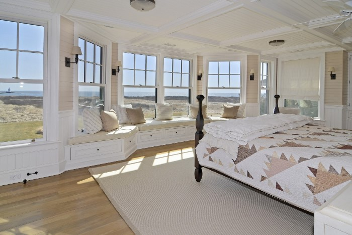 Window seat for a Seaside Home in Fenwick, Old Saybrook