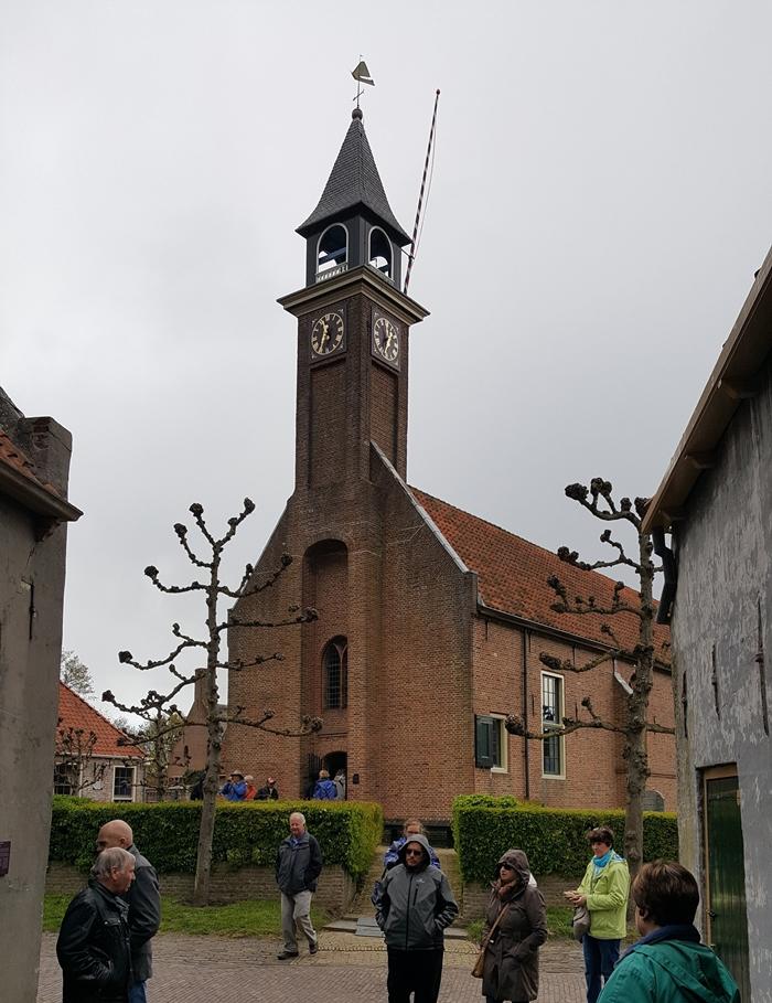 Zuiderzee Museum Village Church, Enkhuizen, Holland, Netherlands_wm