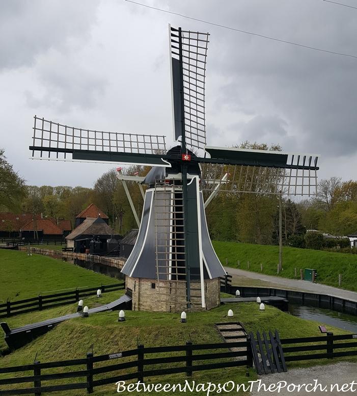 Zuiderzee Museum Wind Mill, Enkhuizen, Holland, Netherlands