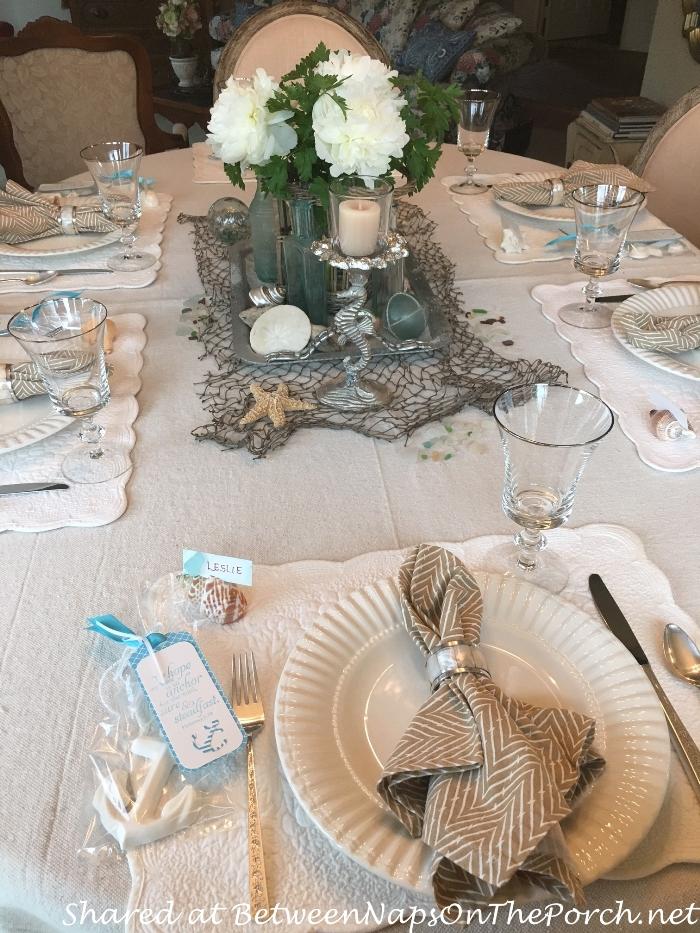 Beach Themed Table