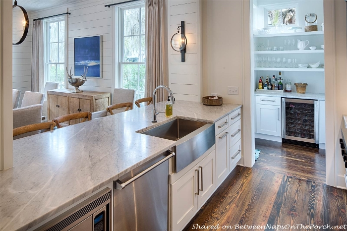Beautiful kitchen in Historical Concepts Palmetto Bluff home_wm