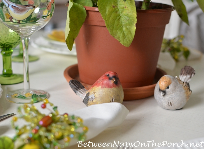 Birds for a Spring Table