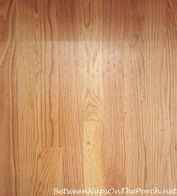Damaged Hardwood Flooring From Latex Or Rubber Backing On Rug