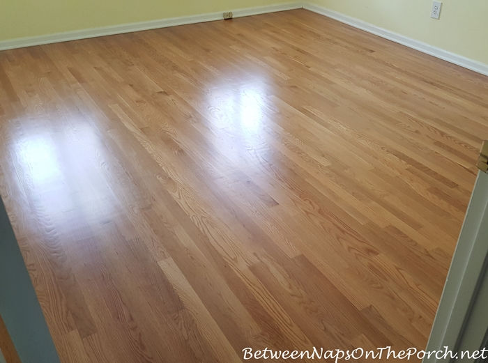 Hardwood Flooring for Guest Room