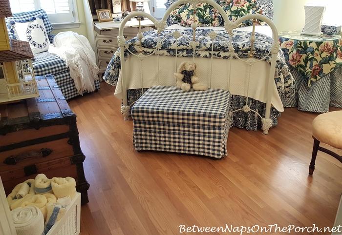 New Hardwood Flooring for Bedroom