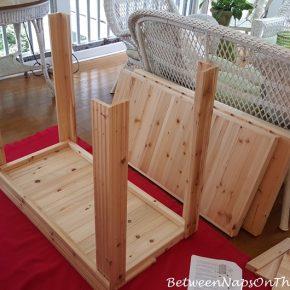 Potting Bench Assembly