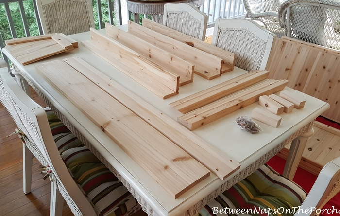 Potting Bench Parts