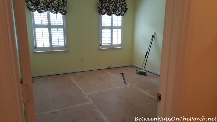 Preparation for Hardwood Flooring