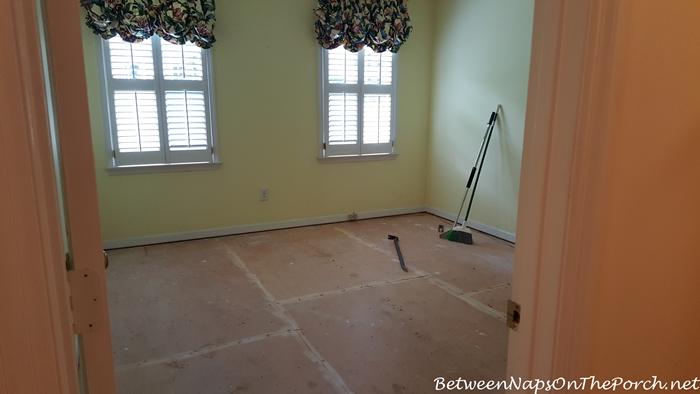 Preparation for Hardwood Flooring