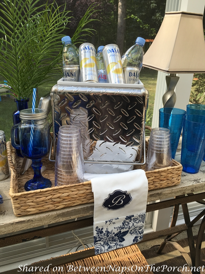 Retro Steel Cooler for Parties