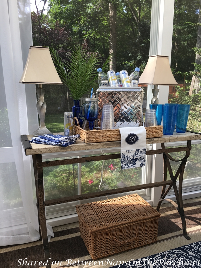 Summer Entertaining on the Porch