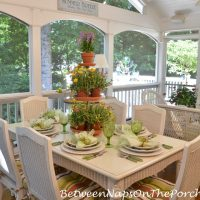 Summer Garden Party on the Porch