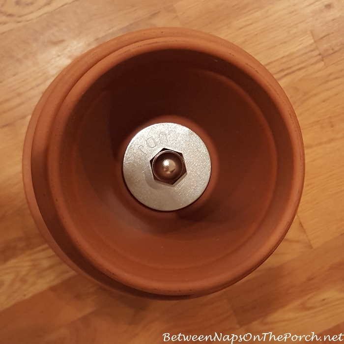 Tutorial for Tiered Planter, Plant Holder Made with Clay Saucers