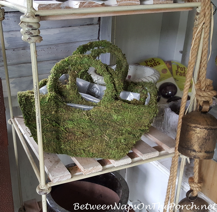 Whimsical Moss Handbag