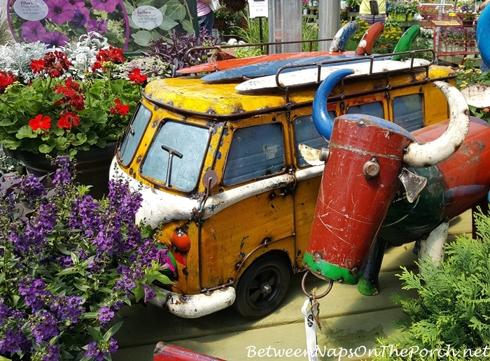 Whimsical Yard Art