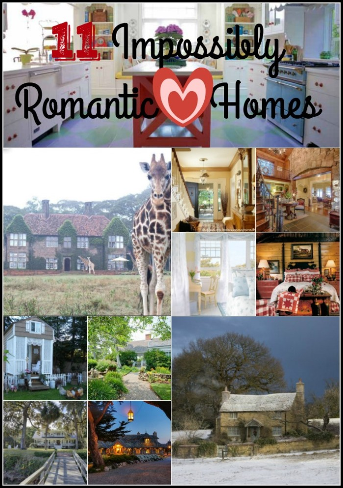 11 Impossibly Romantic Homes