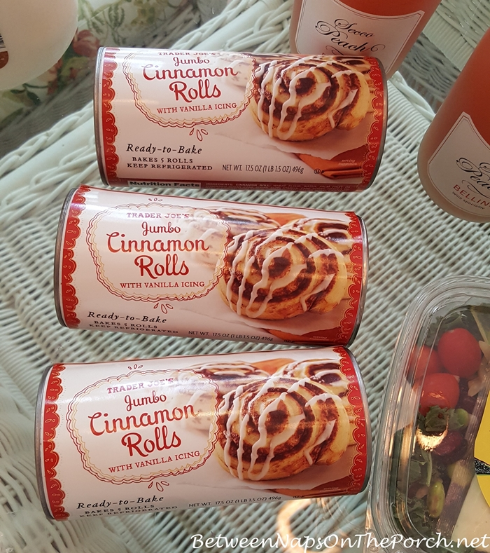 Addicted to Trader Joe's Cinnamon Rolls