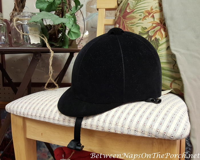 Black Equestrian Riding Hat