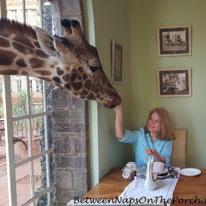 Breakfast with the Rothschild Giraffes at Giraffe Manor