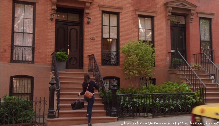 Exterior of Ben's Brownstone Home in movie, The Intern