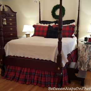 Plaid Tartan Bedding for the Master Bedroom