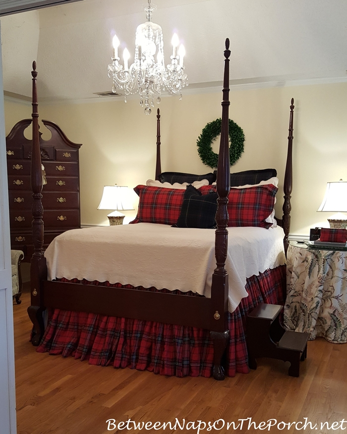 Red Plaid-Tartan Bedding