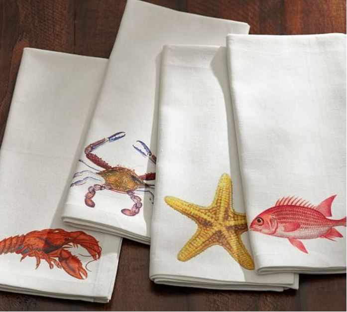 Sea Creature Napkins