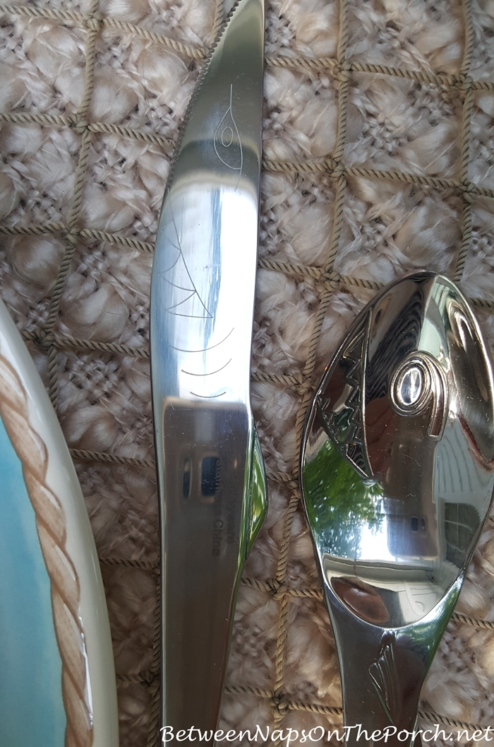 Shark Flatware for Lake Houses and Boats