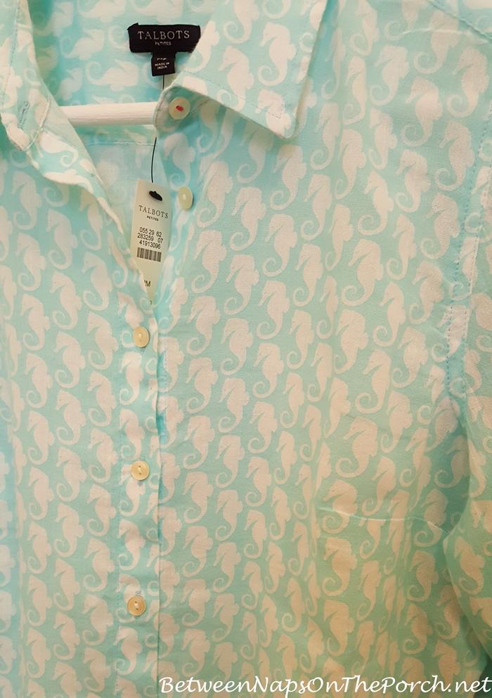 Tiffany Blue Aqua Shirt