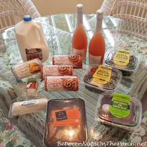 Trader Joe's Milk, Goat's Cheese, and Salads
