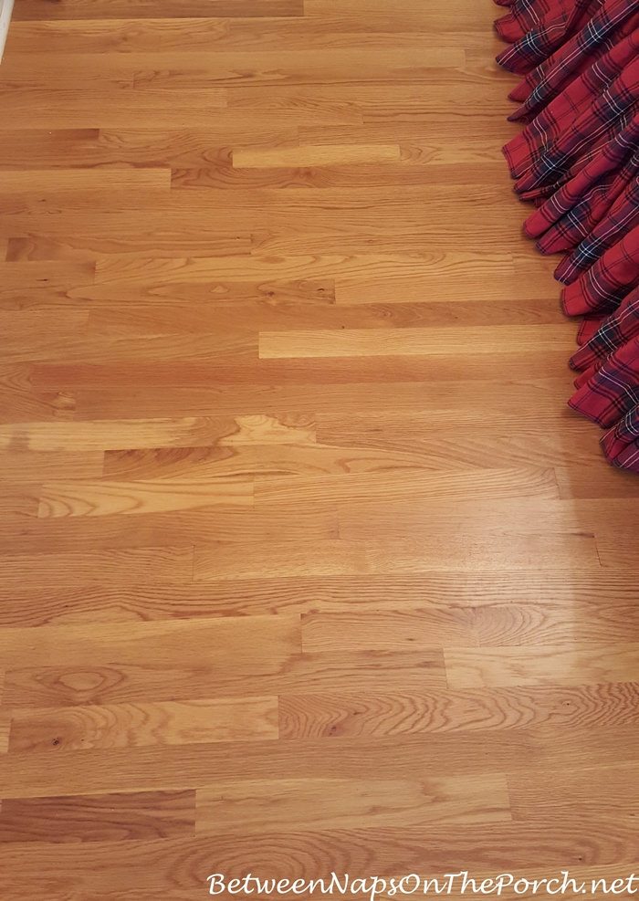 Wood Flooring After Cleaning Seagrass Rug Backing Residue Away
