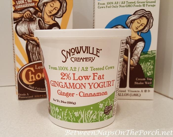 Yogurt from A2 Test Cows