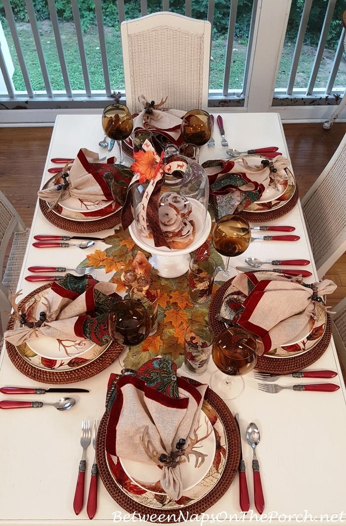 Fall & Autumn Table Setting Ideas