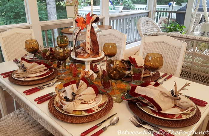 Fall-Autumn Tablescape Ideas for Entertaining