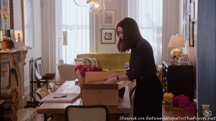 Jules Dining Room in movie, The Intern