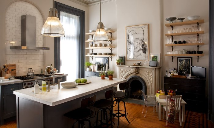 Kitchen in Movie, The Intern, Jules Kitchen