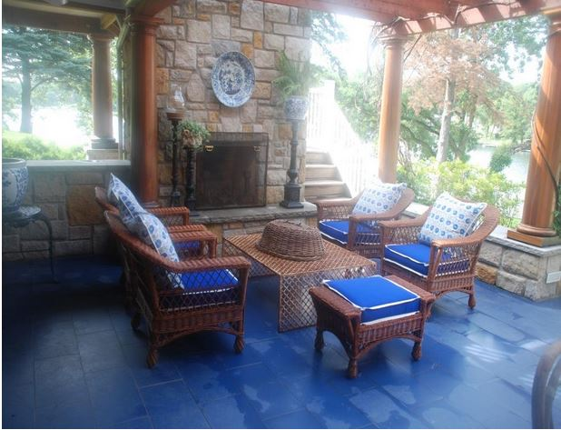 Mary Carol Garrity's Outdoor Entertaining Spaces