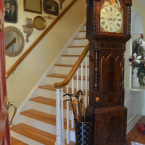 Open Staircase Wall