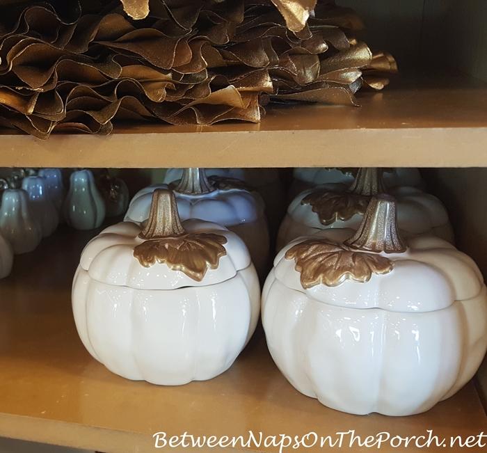 Pumpkin Tureens , White